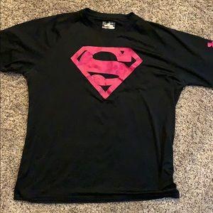 Large Under Armour Superman shirt